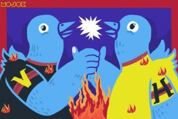 keributan, argumen, perdebatan, adu jotos, media sosial mojok.co