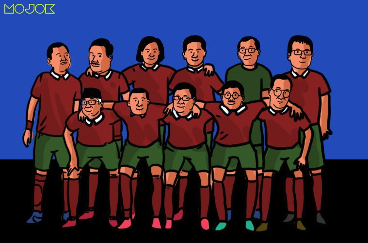 Formasi Para Menteri Jokowi jika Disusun Jadi Tim Sepak Bola