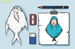 model jilbab hits ngetren tutorial jilbab pashmina indira kalistha jilbab jepit rambut jilbab bawal jilbab pocong mojok.co
