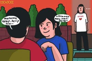 pacaran duduk sebelahan pacaran duduk berhadapan gibah bersama pacar pamer kemesraan perdebatan pacaran di restoran duduk sampingan mojok.co