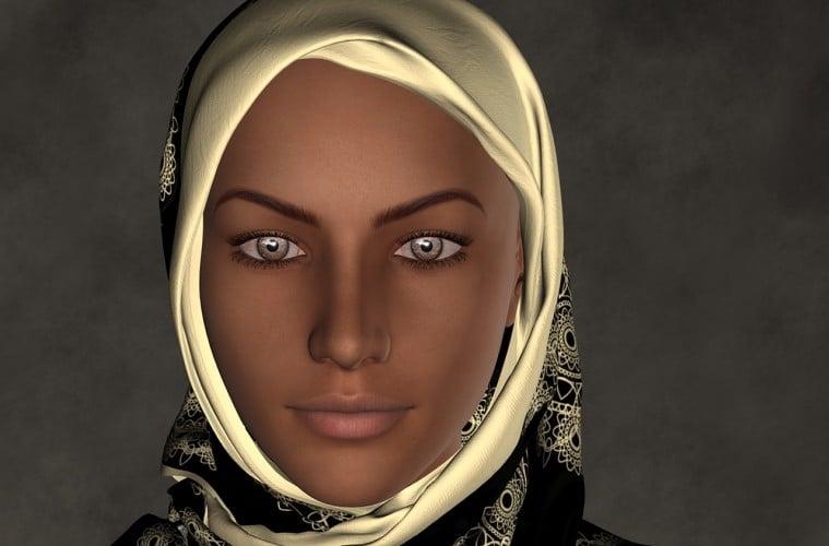 Jilbab Rini Soemarno dan Khalifah Umar