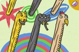 tongkat makhluk