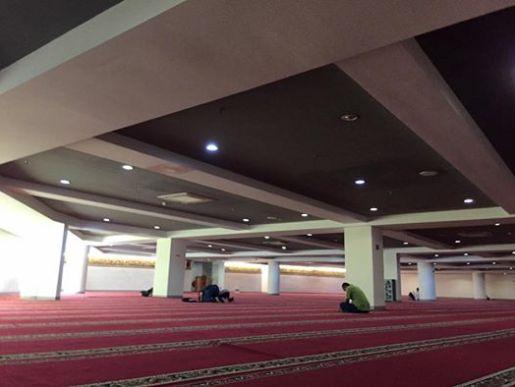 masjid lantai 4 gandaria city mojok