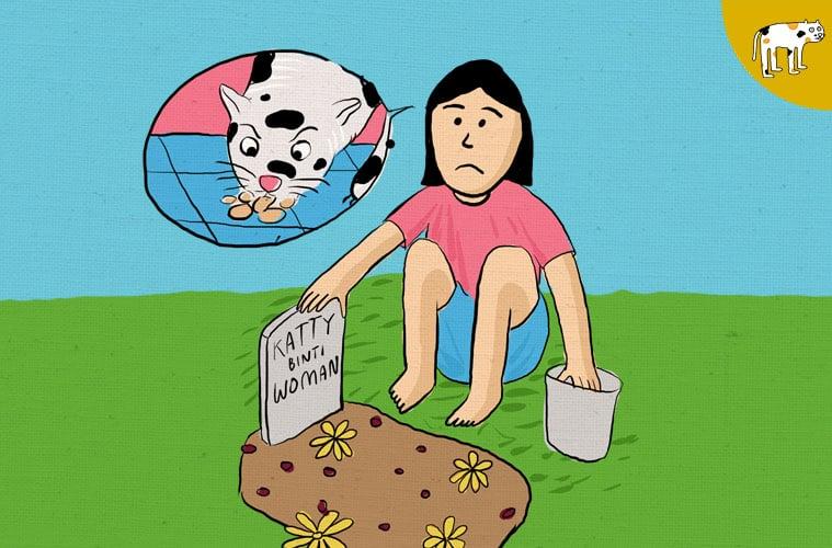 kuburan kucing