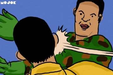 insiden tentara menganiaya sipil