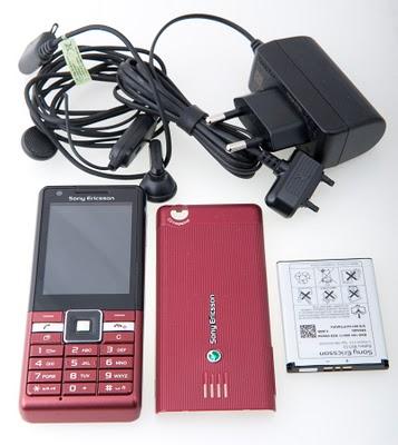 Penampakan Sony Ericsson J105i Naite
