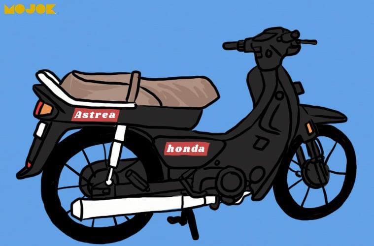 Mengendarai Honda Grand 1997 Dengan Jiwa Harakiri Mojok Co