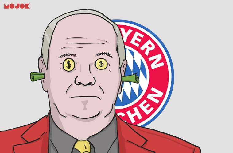 Begini Cara Agen Mesut Ozil Menyerang Uli Hoeness Presiden Bayern Munchen