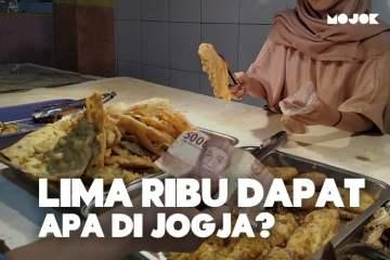 Makanan Murah Hanya dengan 5 Ribu Rupiah di Jogja