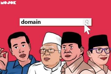 Domain Nama Capres-Cawapres Prabowo-Sandi