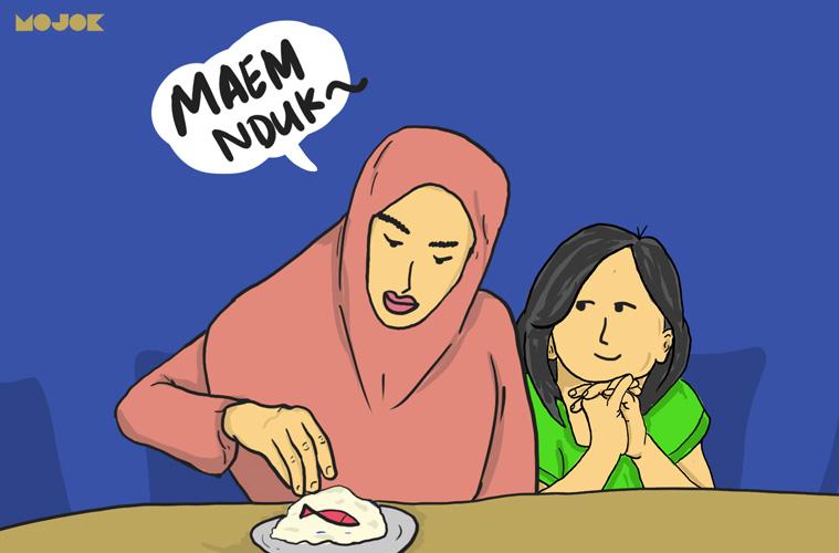 masakan ibunya