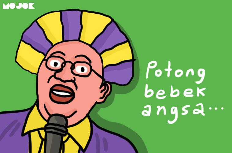 fadli zon menyanyi potong bebek angsa benci sama suara sendiri kenapa orang tidak suka mendengar rekaman suaranya sendiri kenapa rata-rata orang ebrsuara fals penjelasan cara mendengar suara asli kita sendiri mojok.co