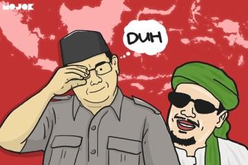 Prabowo Janji Jemput Habib Rizieq MOJOK.CO