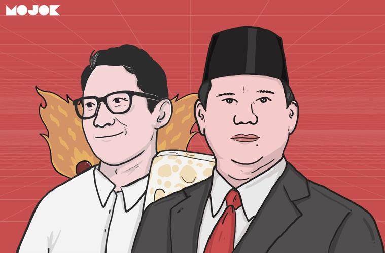 Prabowo Sandiaga Uno Presiden RI MOJOK.CO