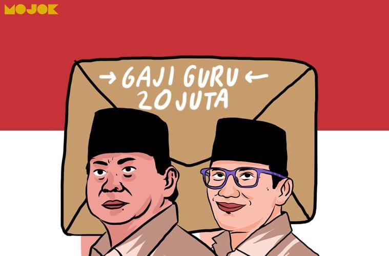 gaji guru
