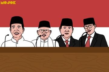 Debat Jokowi Prabowo KILAS MOJOK.CO