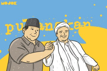 Prabowo Tegaskan Akan Jemput Habib Rizieq Pulang Jika Terpilih Menjadi Presiden