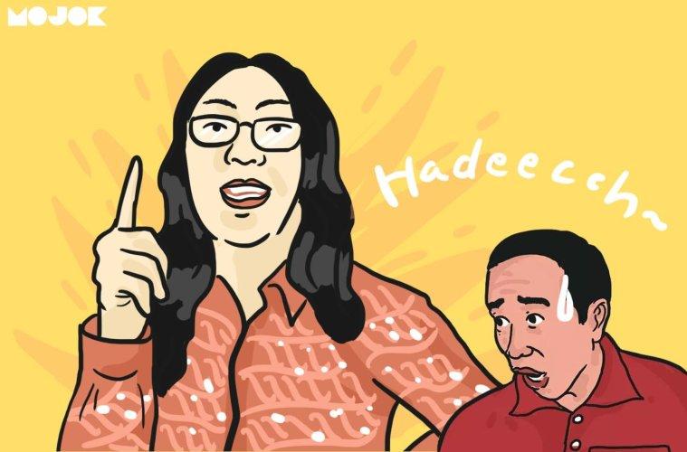 Ulin Yusron bikin Jokowi kalah MOJOK.CO