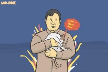 Prabowo dan kucing MOJOK.CO