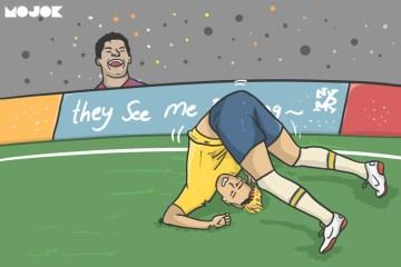 Messi dan Rashford MOJOK.CO