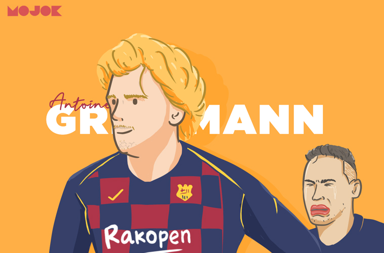 Griezmann ke Barcelona MOJOK.CO