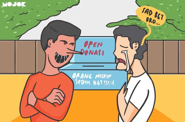 Open Donasi Bodong Mengeksploitasi Kemiskinan MOJOK.CO
