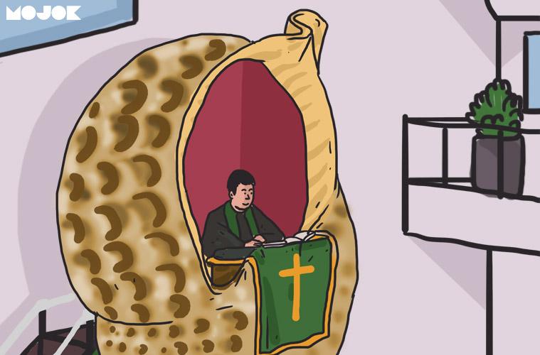 Mimbar Gereja Berbentuk Bekicot Ini Maksudnya Apa Coba