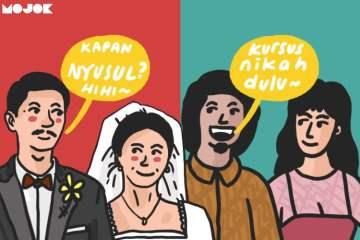 kursus pernikahan mencegah cerai dan poligami MOJOK.CO