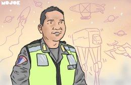 polisi lalu lintas target tilang suka duka cerita