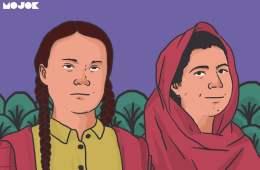 Greta dan Malala, Dua Remaja Keras Kepala yang Berusaha Menggugah Dunia MOJOK.CO