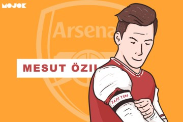 Ozil kapten Emery Arsenal Liverpool MOJOK.CO