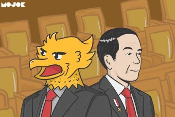 oposisi koalisi jokowi prabowo sby surya paloh gerindra demokrat jokowi periode kedua menteri bagi jatah bagi kursi
