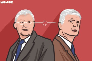 Arsene Wenger vs Sir Alex Ferguson MOJOK.CO