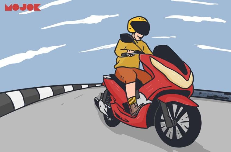 Honda Pcx Motor Premium Yang Susah Putar Balik Itu Mojok Co