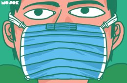 tutorial masker rumahan bikin masker tiga layer dua layer menjahit masker kain katun bahan untuk membuatmasker masker bedah masker n95 kemampuan menjahit virus corona ismail fahmi drone emprit mojok.co
