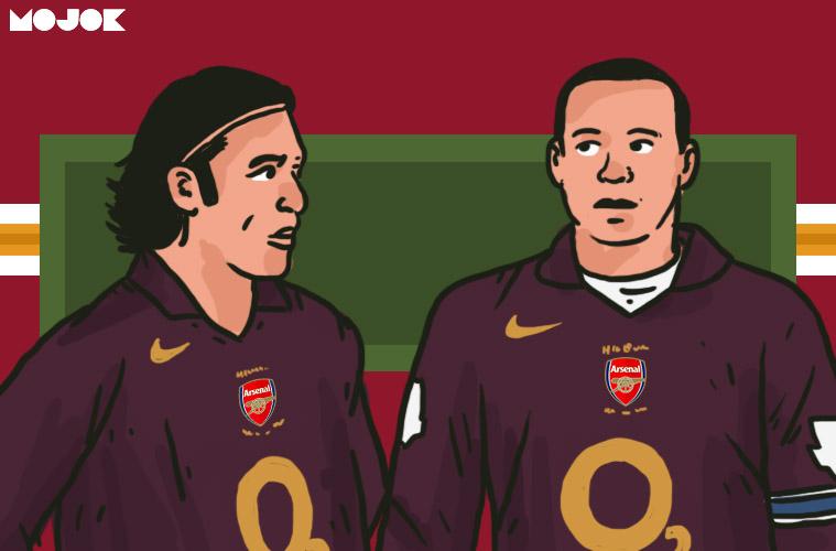 Arsenal Wenger Henry Pires Saliba Liga Inggris MOJOK.CO