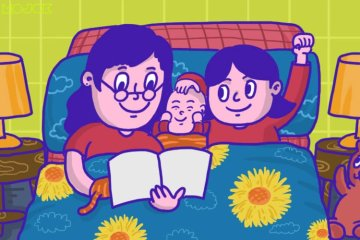 pillow talk dongeng sebelum tidur cerita anak cerita sama anak tanya jawab sama anak kecil situasi gawat darurat persiapan orang tua tak ada pingsan mojok.co