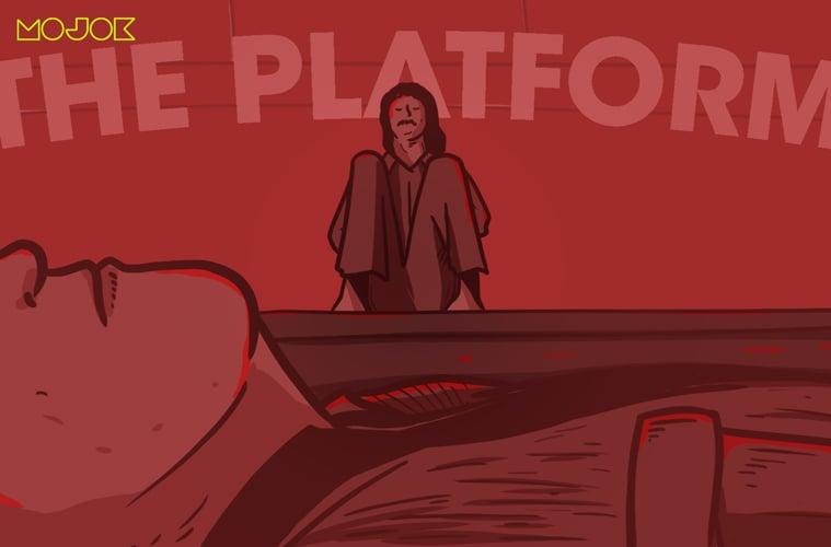 Review Film The Platform, Alegori Sistem Kelas yang Nggak Pusing-pusing Amat