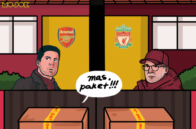 Liverpool vs Arsenal: Alat Ukur dan Uji Kepantasan Pemain Baru