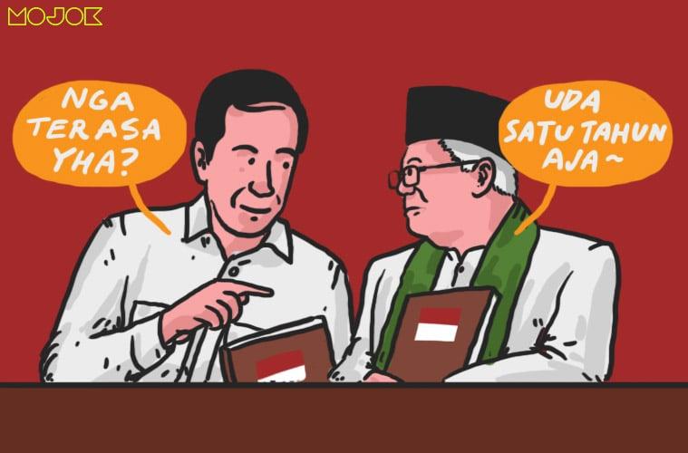 3 Kebaikan dalam Satu Tahun Kepemimpinan Jokowi dan Ma'ruf Amin