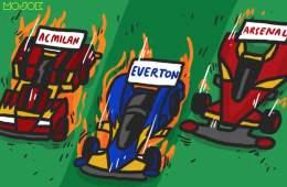 Laju AC Milan dan Everton, Perkembangan Arsenal: Ketika Keagungan Proses Dipandang Sebelah Mata MOJOK.CO