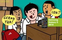 Samsung Galaxy S 2010, Cikal Bakal Samsung Menguasai Dunia, Hape Favorit Buat Nobar Bokep Waktu SMA MOJOK.CO
