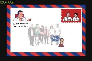 Surat Terbuka untuk Jokowi usai Anak dan Mantu Menangi Pilkada