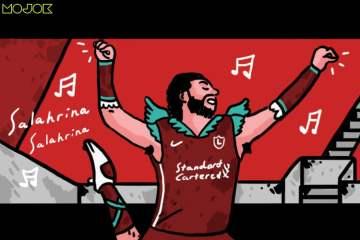 Bukan Alisson, tapi Karma Diving Indah ala Balerina Mo Salah yang Bikin Liverpool Dibantai di Anfield MOJOK.CO