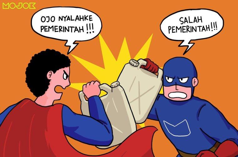 Dialog Dua Aktivis soal Harga BBM