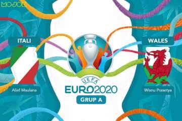 Italia vs Wales: 2 Kawan Baik yang Lagi Santai Makan Pizza Sambil Ngetawain Turki dan Swiss MOJOK.CO