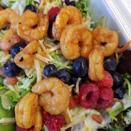 Shrimp Raspberry Salad Delaware