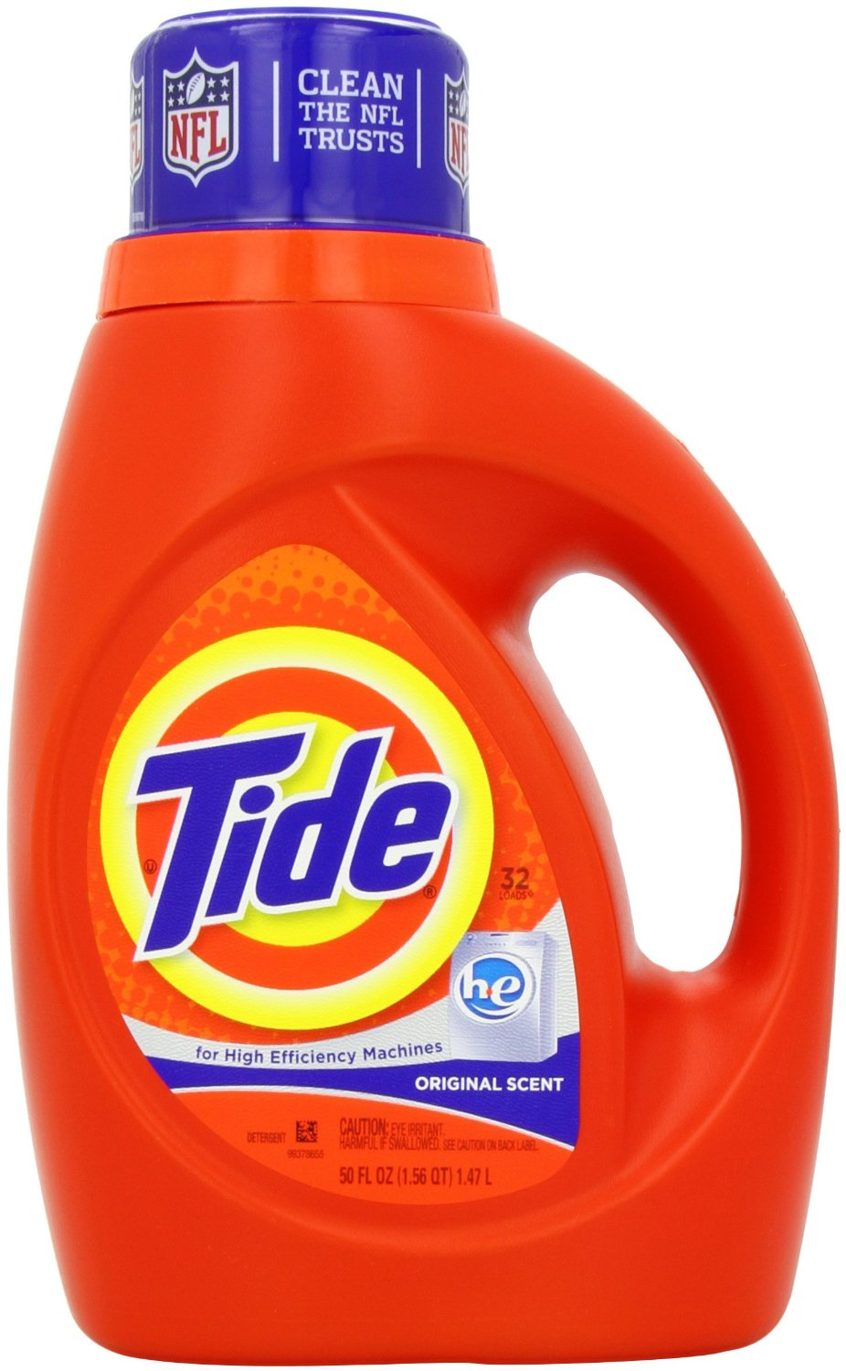 Tide Laundry Detergent HE 50 Oz (Pack of 2) Just $9.88 ...
