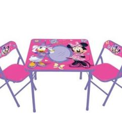 Minnie Table And Chairs Best Chair For Your Back Kohl S Mouse Friends Erasable Activity Set Just 19 59 Reg 40