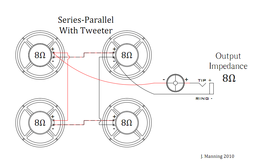 tweeter wiring diagram wiring mids and tweeters to amp